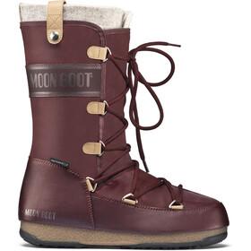 Moon Boot W.E. Monaco Felt WP Laarzen Dames rood